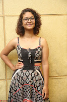 Actress Aditi Myakal Looks gorgeous in Sleeveless Deep Neck Top at Ami Tumi success meet ~  Exclusive 008.JPG