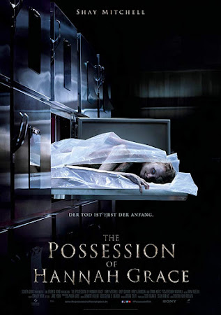 Poster Of Free Download The Possession of Hannah Grace 2018 300MB Full Movie Hindi Dubbed 720P Bluray HD HEVC Small Size Pc Movie Only At worldfree4u.com