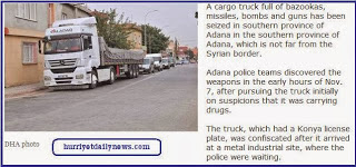 διέλευση φορτηγών που ανήκαν στις τουρκικές μυστικές υπηρεσίες (MIT)