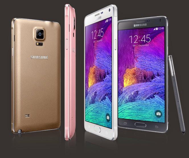 Harga Samsung Galaxy Note 4 N910C baru atau bekas, Spesifikasi Samsung Galaxy Note 4 N910C