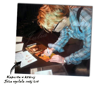 Johnny Depp Autograph rozdaje składa Autograf podpisuje zdjęcie