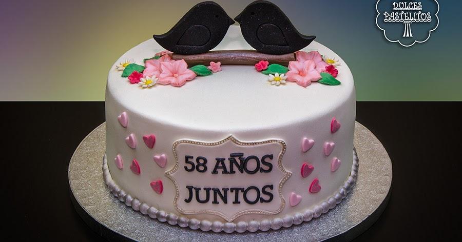 Mis Dulces Pastelitos: Tarta De Aniversario De Bodas