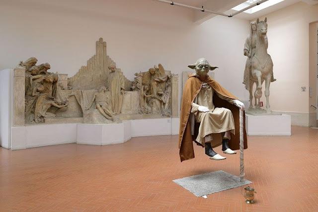 Obras expostas no Museu Pietro Canonica