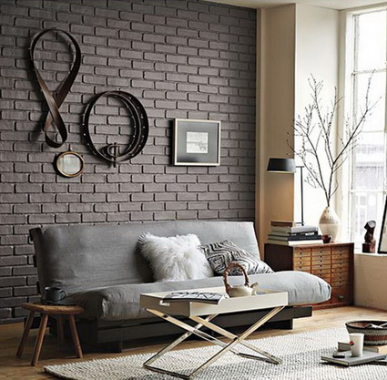 Living rooms with exposed brick 5