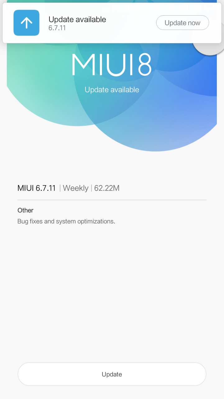 MiUI 8 (6 6 22) Patchrom Patch for Micromax A310 (MT6592