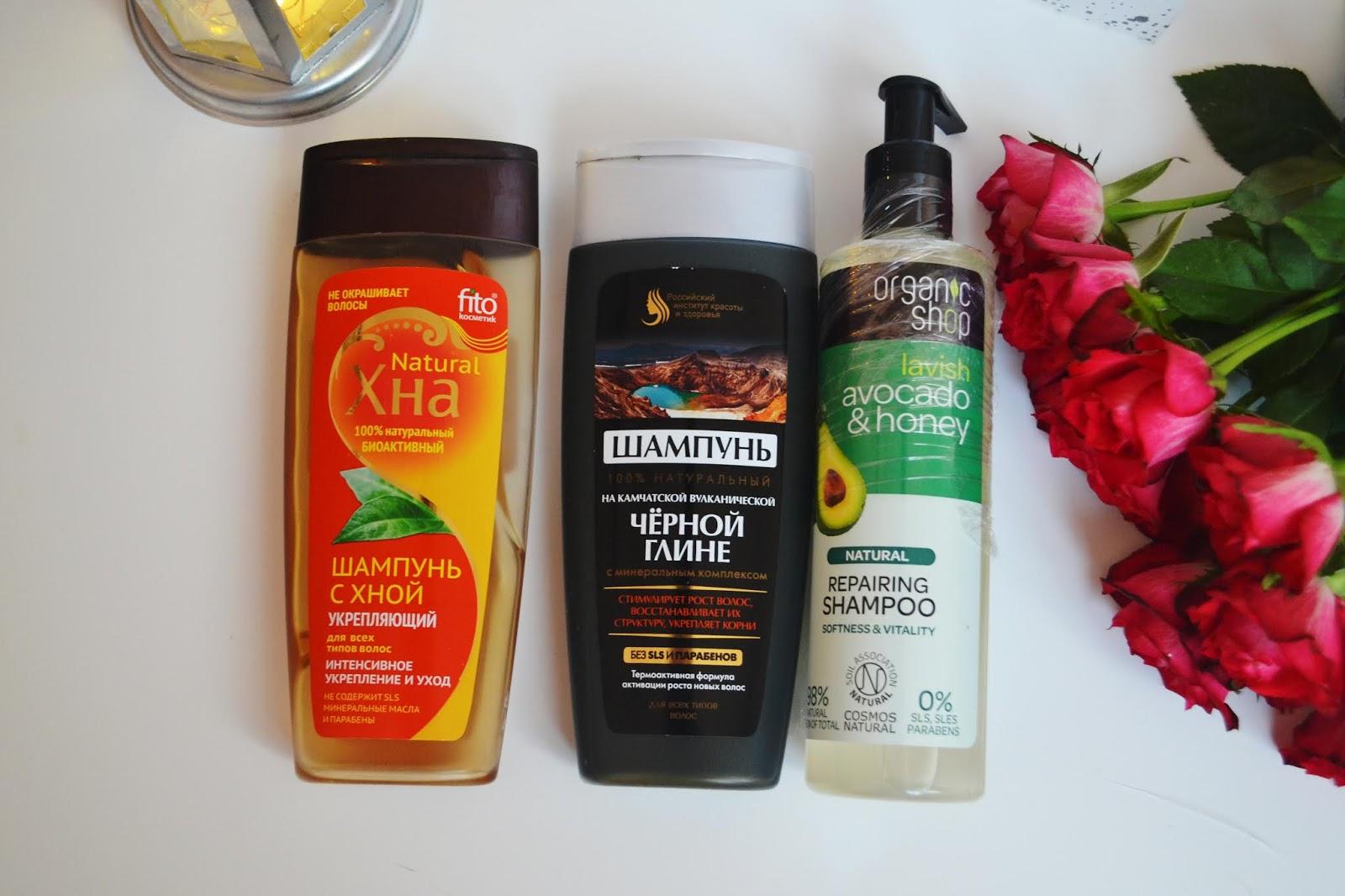 Fitokosmetik szampon z czarną glinką