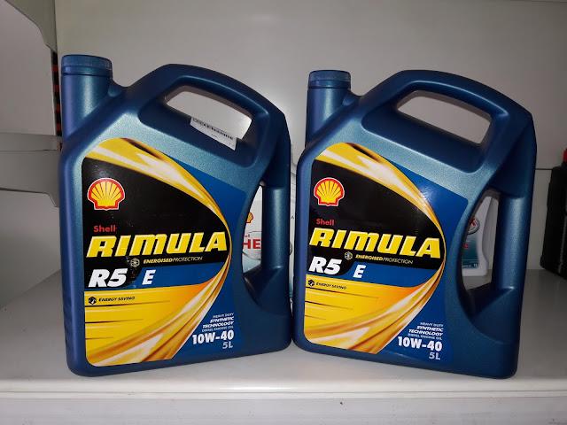 Promo oli Shell Rimula R5 E