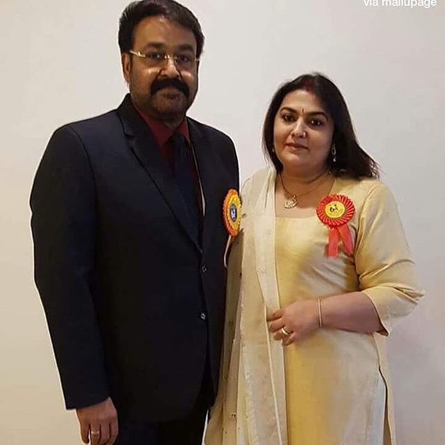 Actor Mohanlal at the National Film Awards Ceremony