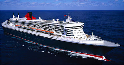 Cunard Line's Queen Mary 2 Returning to New York after a 134 Day World Cruise.