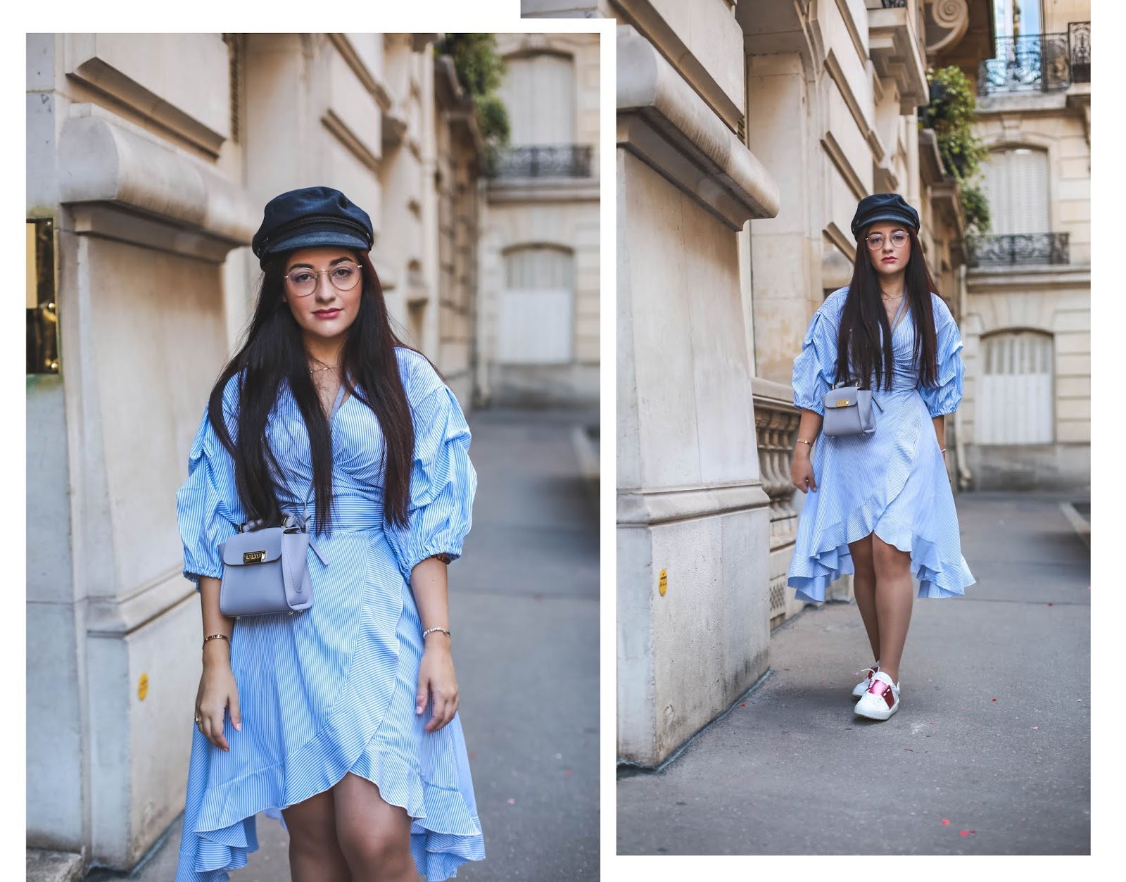 robe à manches bouffantes blog mode