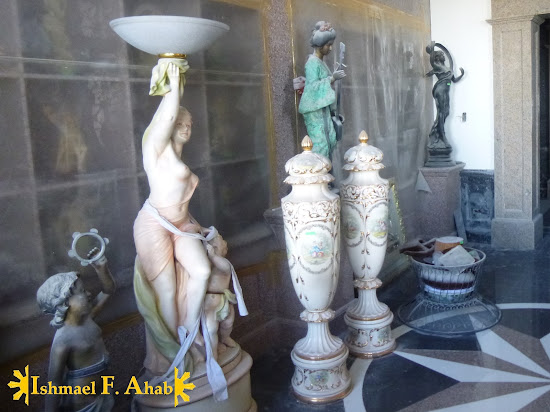 Leah Adarna's statue collections in Temple of Leah in Cebu City