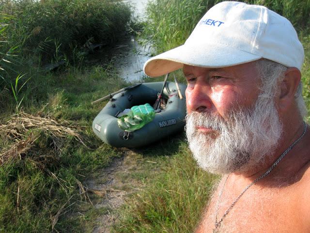Фото Виталия Бабенко: после рыбалки