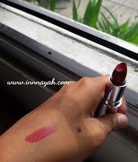 Review lipstick wardah matte, wardah matte lipstick maroon, wardah matte lipstick no.10, harga wardah matte lipstick, wardah exclusive series, wardah longlasting lipstick, beauty, lipstick, wardah