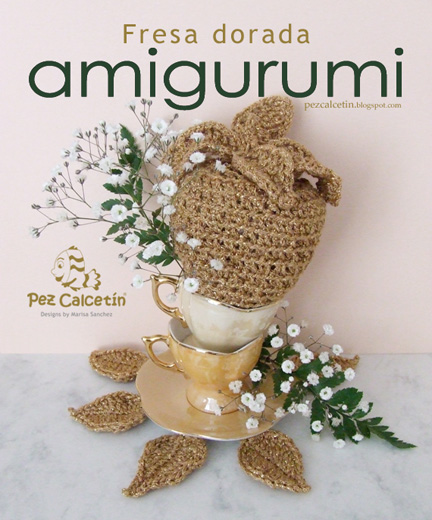"""amigurumi"" ""fresa"" ""crochet"" ""ganchillo"" ""pez calcetin""  ""lanaterapia"" ""bienestar"" ""hygge"""