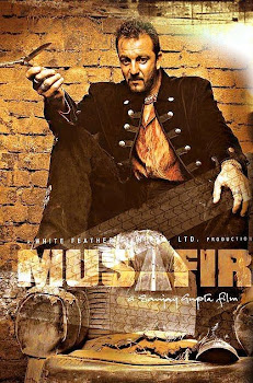 Poster Of Bollywood Movie Musafir (2004) 300MB Compressed Small Size Pc Movie Free Download worldfree4u.com