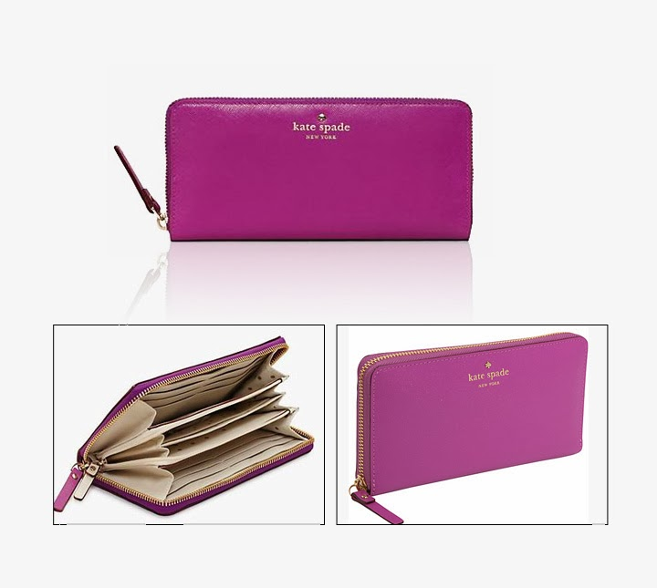 Product Review Kate Spade Micas Pond Lacey Wallet