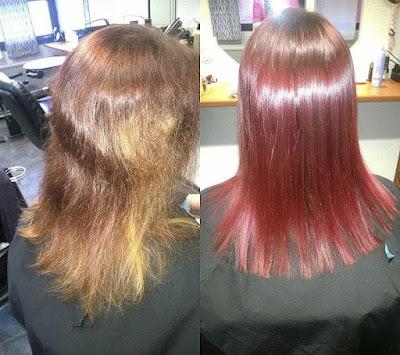 Tukkaraporttia: kestääkö punainen väri hiuksissa?