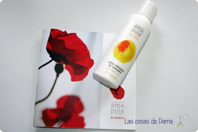 Amapola Bio-Cosmetics cosmética natural leche limpiadora de saponaria