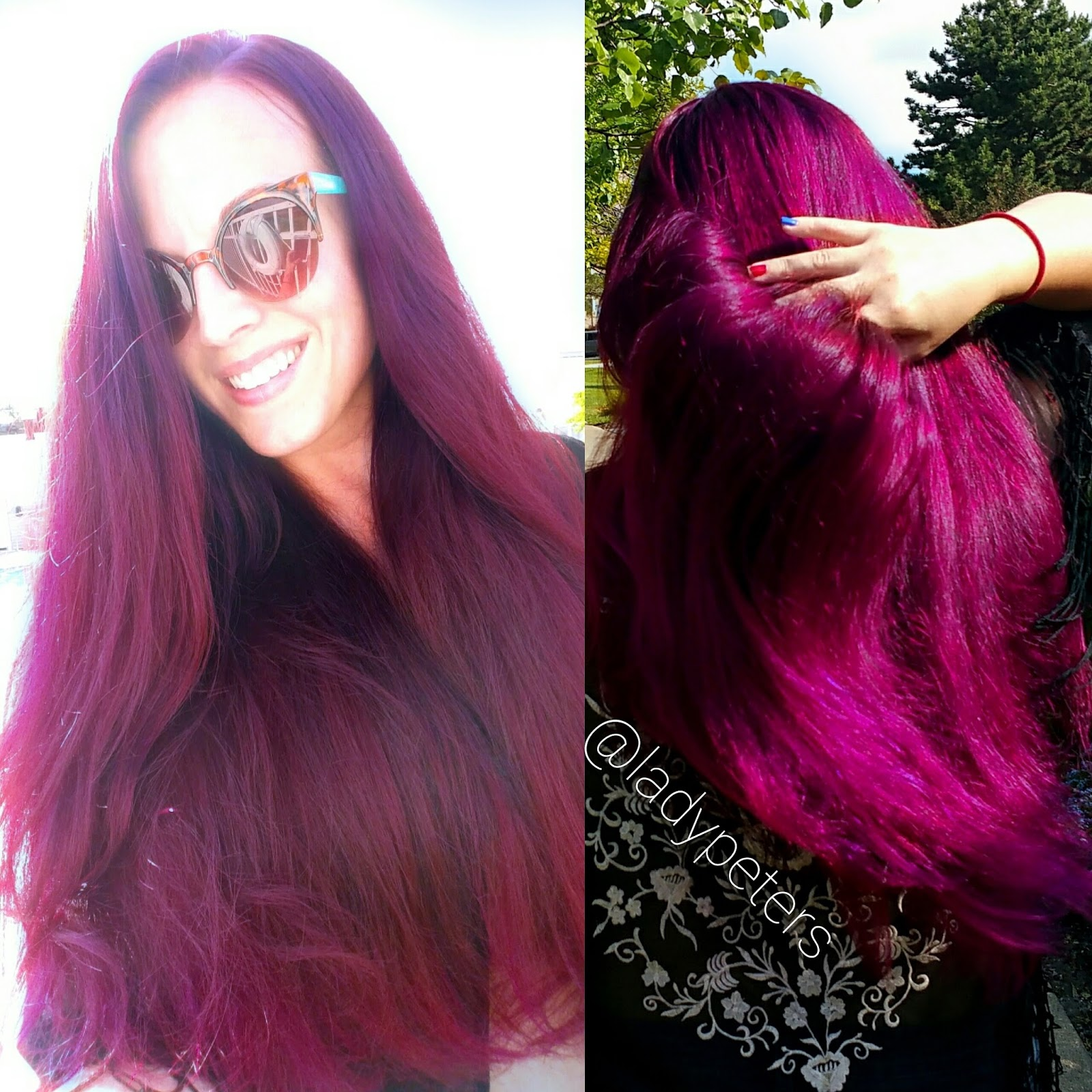 Naturally Multicolored Hair