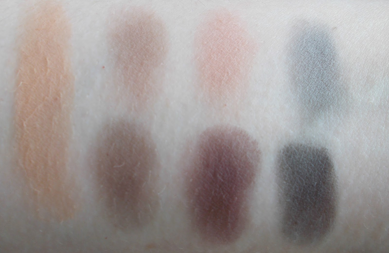 smashbox Photo Matte Eyes eyeshadow palette review swatch