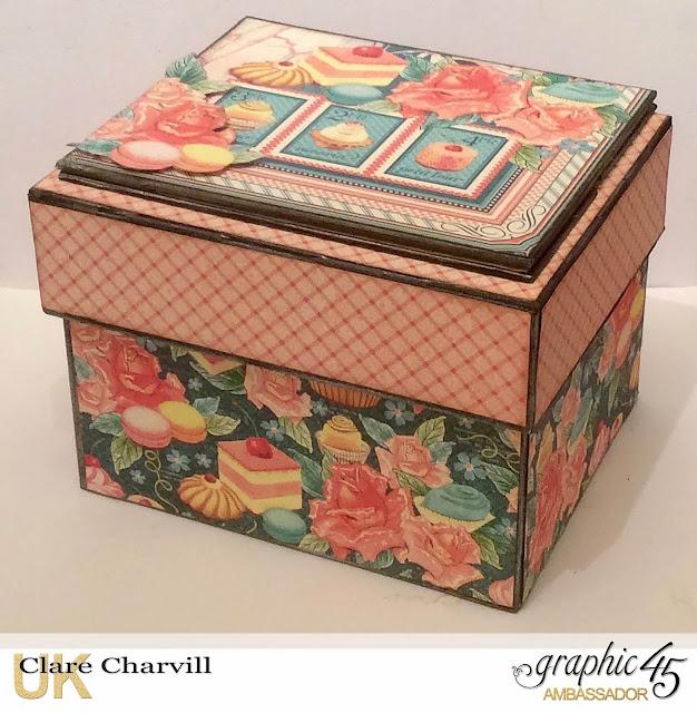 Cafe Parisian Recipe Box Clare Charvill Graphic 45
