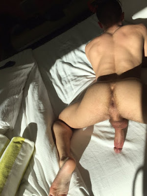 Gay Man Ass Asshole Butt Hole Hot Guy Amateur GIF Sexy RobotJack Robot Jack TheWouldBeSlut