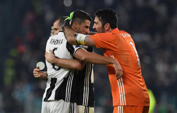 "Khedira: ""Buffon je veliki sportista, živuća legenda"""
