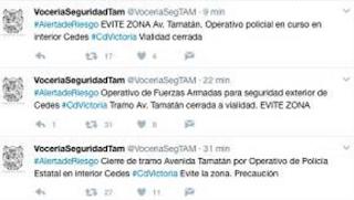 Cuatro policias muertos tras operativo penal de Ciudad Victoria Tamaulipas