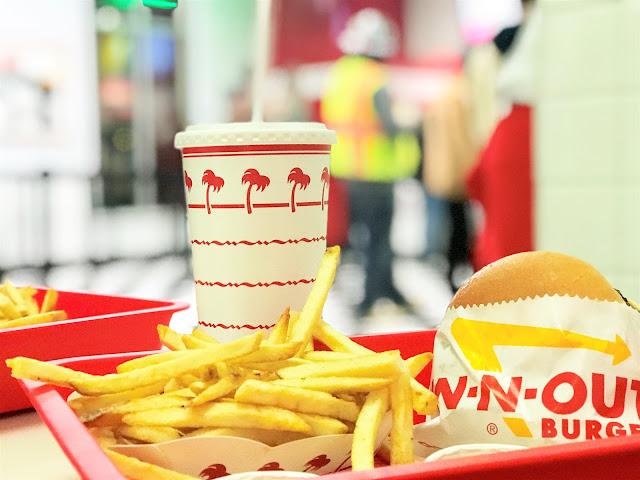 In-n-out Burger, Las Vegas, LINQ  Promenade, Travel Nevada
