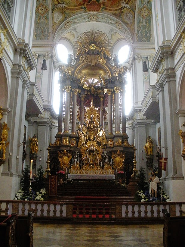 St. Peter's Cathedral in Munich, Germany