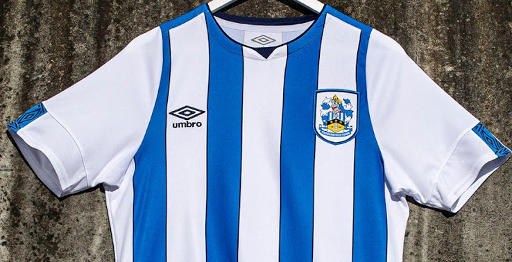 efc83988 Huddersfield's new 2019-2020 home strip was just unveiled by the club that  will play in the second division next season. The new away kit was also  unveiled.