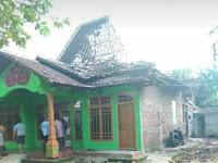 Rumah Warga di Desa Talun Tersambar Petir, Begini Kondisinya