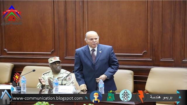 اللواء احمد عبدالرحيم رئيس مجلسس ادارة اكاديمية الشروق