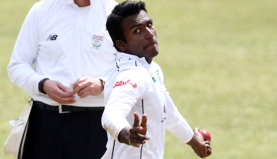 Senuran Muthusamy - Hollywoodbets Dolphins - Sunfoil Series - Bowling - Cricket