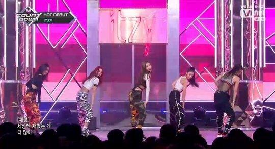 ITZY 'M! Countdown' programında çıkış performasını gerçekleştirdi