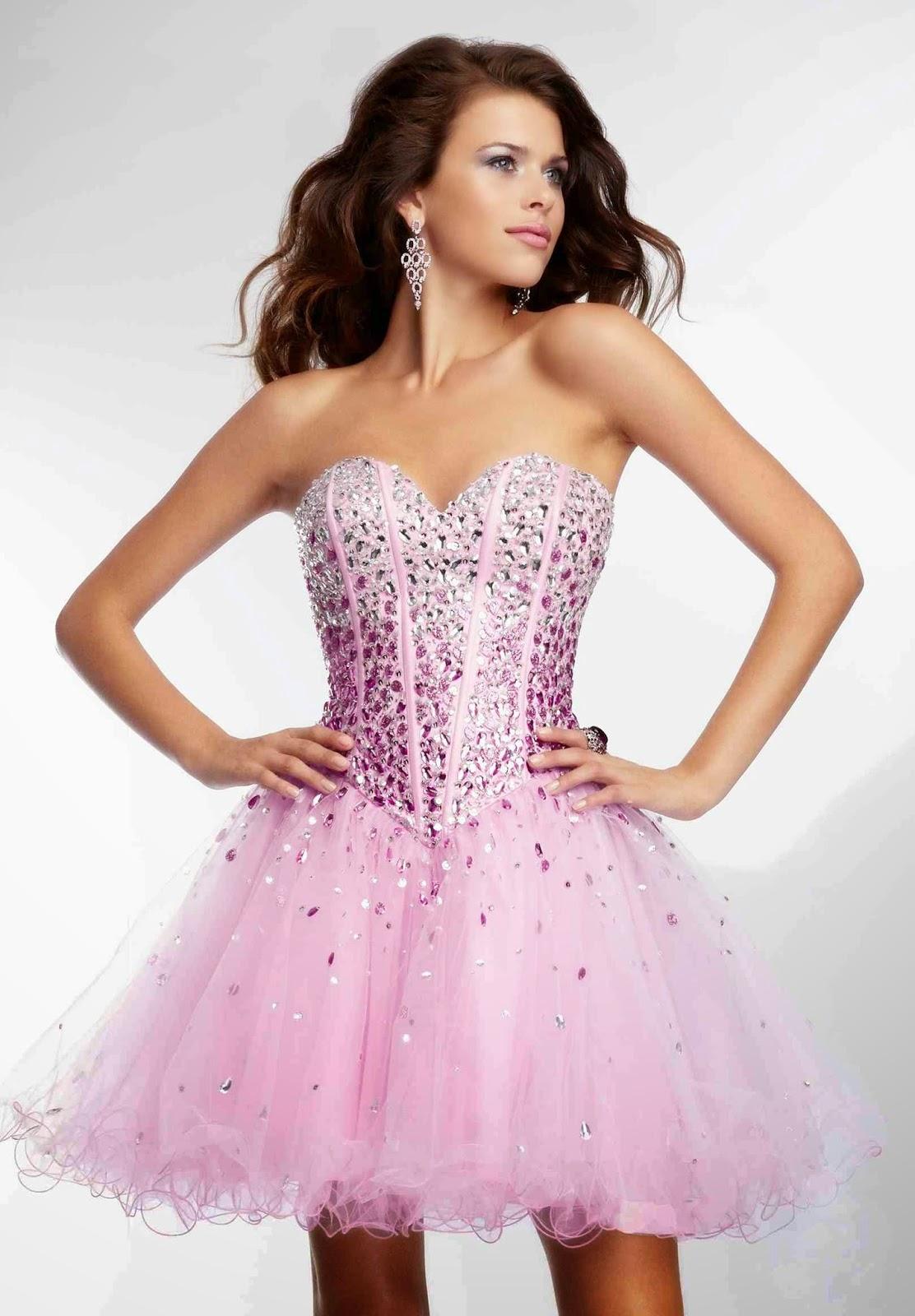 Hermosos vestidos cortos de fiesta | Colección 2014 | 101 Vestidos ...