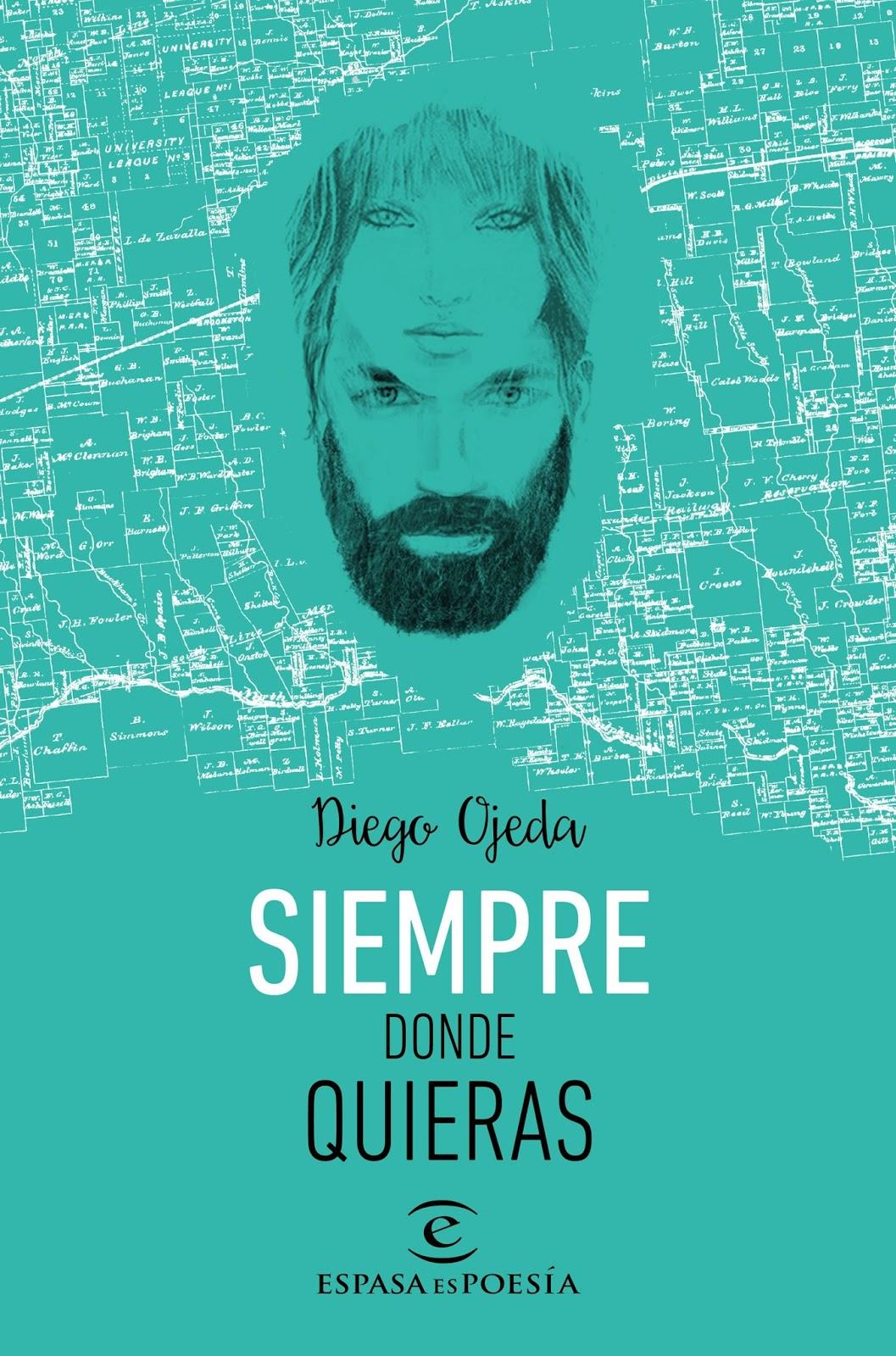 Pero Qué Locura De Libros.: SIEMPRE DONDE QUIERAS - Diego Ojeda  @tataya.com.mx