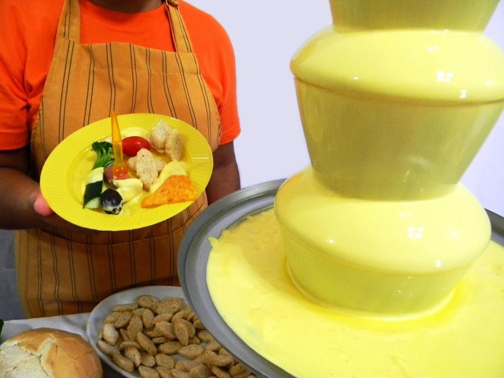 bacadillos para cascada de queso fondue