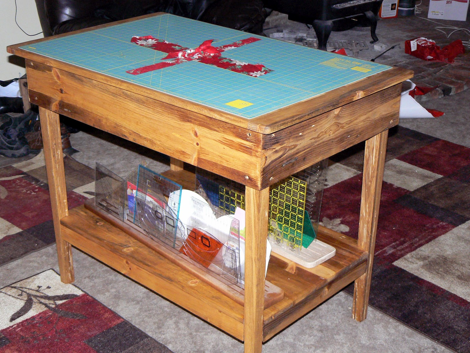 The Woodcrafter Cutting Table For Quilting