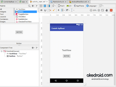 activity_main.xml Android Studio