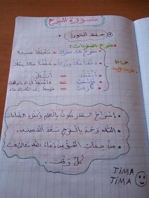 ملخصات مادة التربية الاسلامية الفصل الثاني السنة الرابعة ابتدائي الجيل الثاني