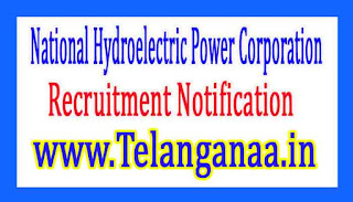 National Hydroelectric Power CorporationNHPC Recruitment Notification 2017