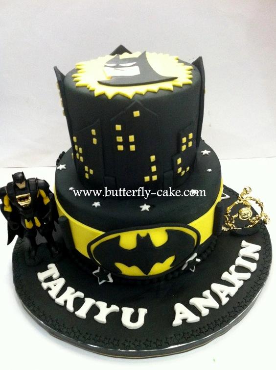Butterfly Cake Batman Cake