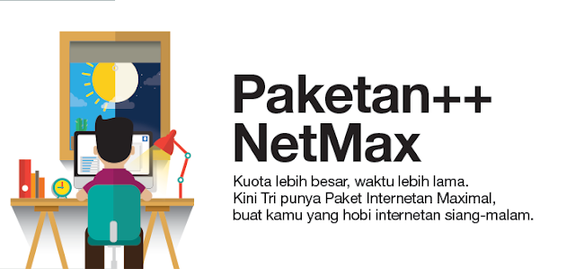 Peket Internet Hemat 3 (tri)