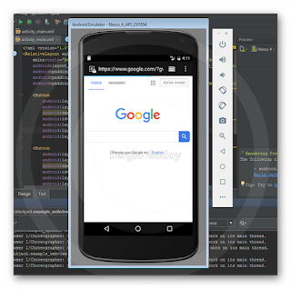 Android Studio - WebView