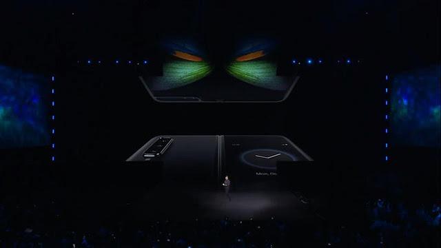 Ini Spesifikasi Lengkap Galaxy Fold, Smartphone Layar Lipat Samsung