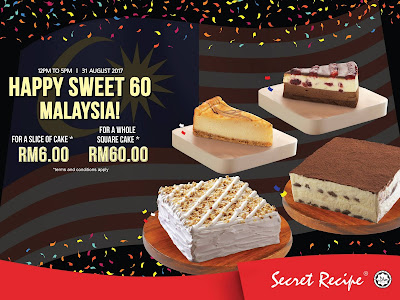 Secret Recipe Malaysia Slice of Cake RM6 Discount Offer Promo