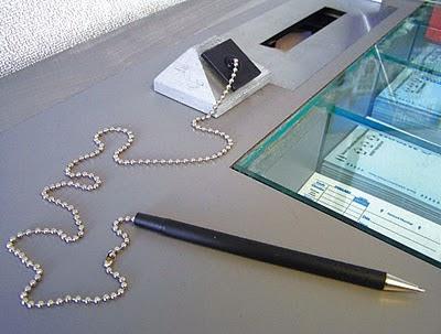 Kugelschreiber An Kette