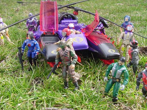 1987 Mamba, Gyro Viper, 1986, Strato Viper, 1990 Metal Head, 1984, Scrap Iron, 1997, Baroness, 2000, Firefly, ARAHC, 1985 Tele Viper, 1989 Aero Viper, 2001 Laser Viper