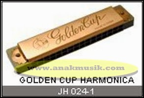 Harmonika Golden Cup JH024 Gold